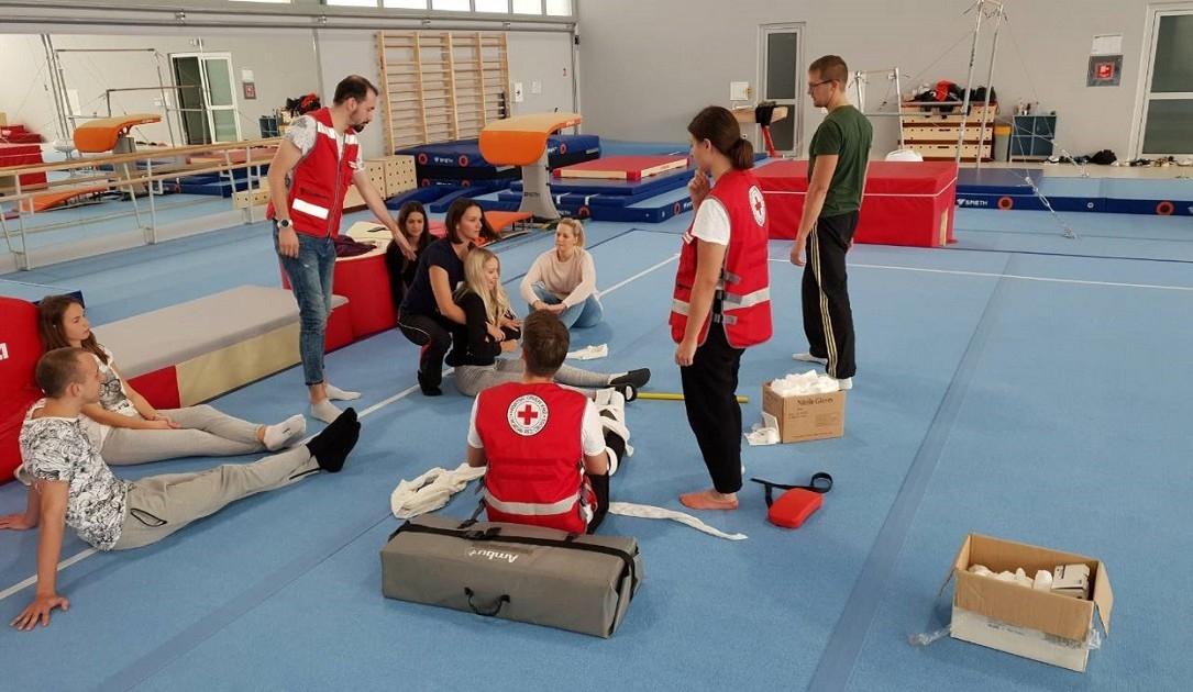 Treneri GD Osijek – Žita obnovili znanje pružanja prve pomoći