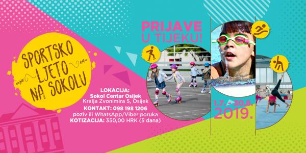 Sportsko ljeto na Sokolu – kamp za djecu od 4 do 10 godina!