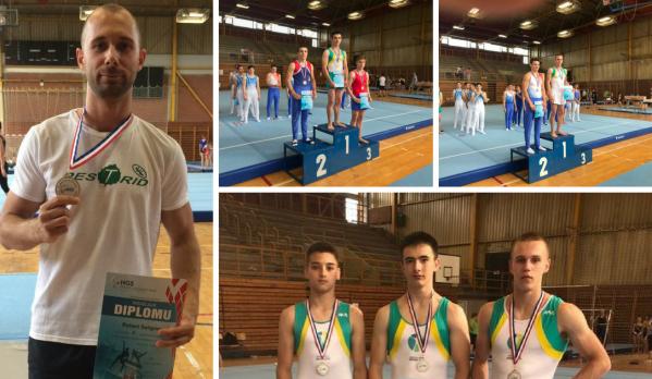 Gimnastičari GD Osijek - Žita uzeli 3 zlata u Sisku!