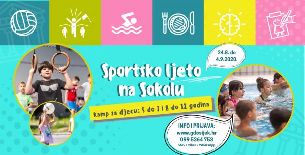 Krajem kolovoza još jedno izdanje Sportskog ljeta na Sokolu!