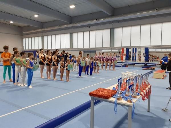 Osijek ugostio gimnastičare iz Slavonije i Baranje
