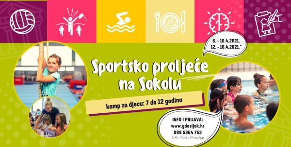 Sportsko proljeće na Sokolu 2021. – UPISI U TIJEKU!