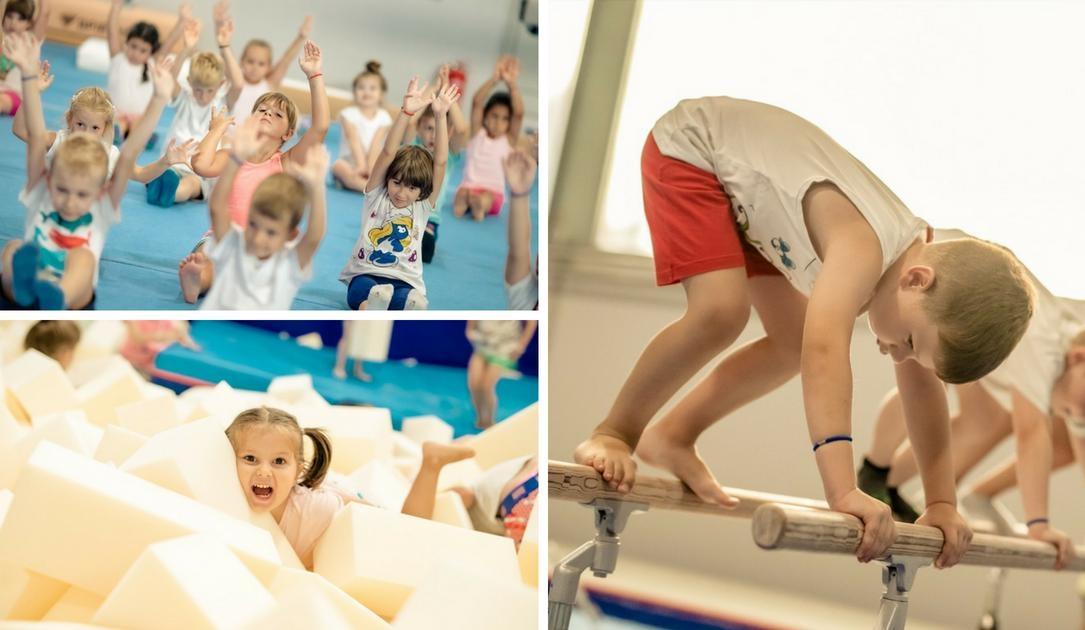 GIMNASTIKA ZA PREDŠKOLCE (djeca od 3 do 6 godina)